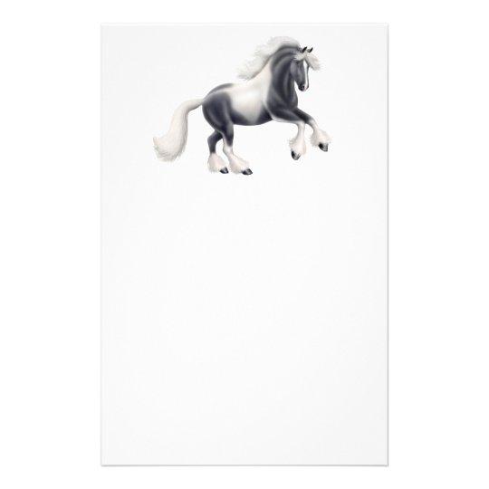 Gypsy Vanner Cob Horse Stationery