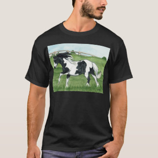 Gypsy Vanner Galloping T-Shirt