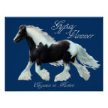 Gypsy Vanner horse , Elegance in motion