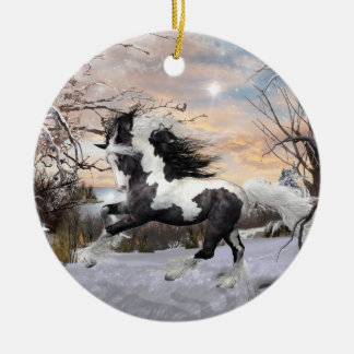 Gypsy Vanner Horse Ornament