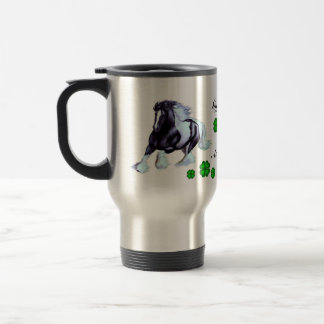 Gypsy Vanner, Irish horse Travel Mug