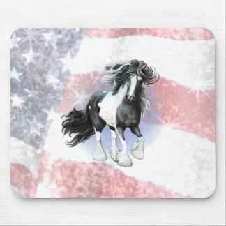 Gypsy Vanner Prince Mouse Pad