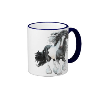Gypsy Vanner...Prince Ringer Mug