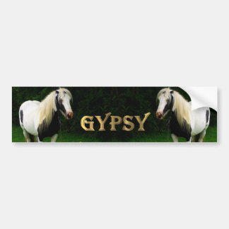 Gypsy Vanners Bumper Sticker