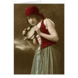 Gypsy vintage girl