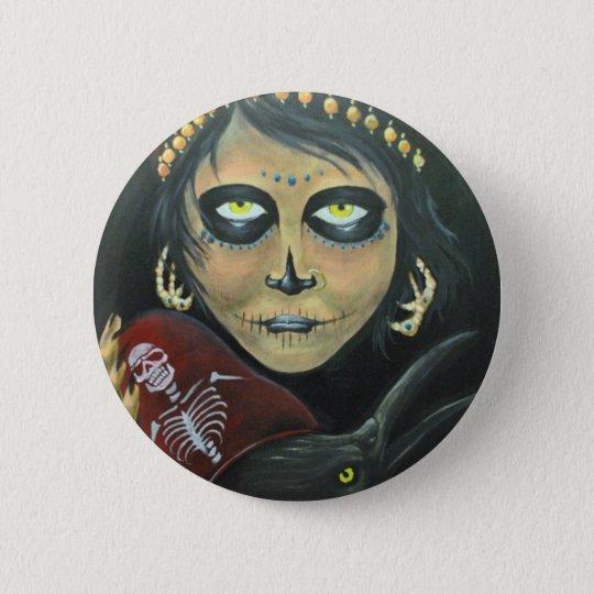 Gypsy Woman Button