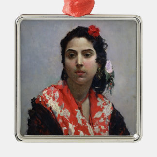 Gypsy Woman Christmas Ornament