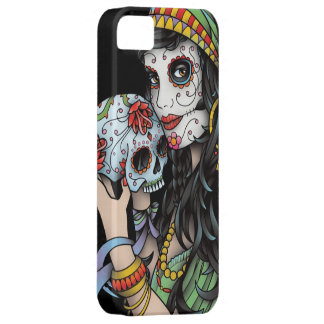 Gypsy Woman Day of the Dead Case For The iPhone 5
