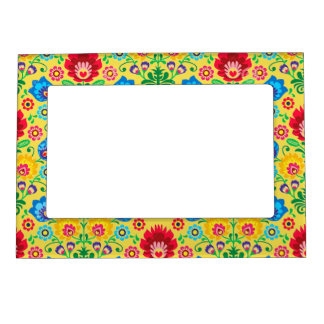 Gypsy Yellow Floral Picture Frame