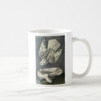 Gyrfalcon by Audubon Coffee Mugs