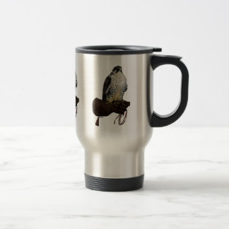 Gyrfalcon on Glove Travel Mug