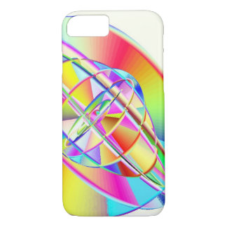 Gyroscopic Rainbow iPhone 7 Barely There Case