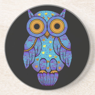 H00t Owl Midnight Madness Coaster