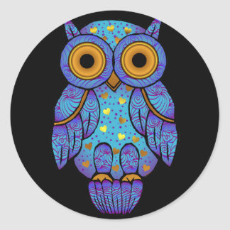 H00t Owl Midnight Madness Sticker