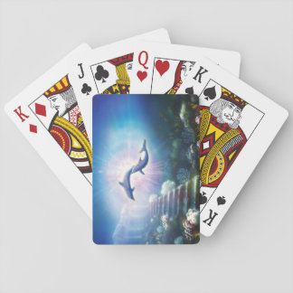 H019 Nori Dolphins Playing Cards