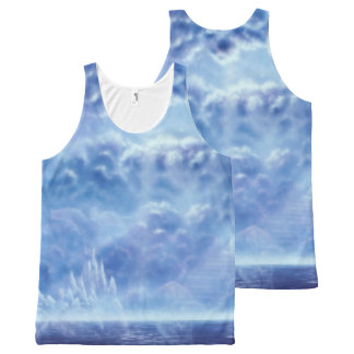 H100 Stairway to Heaven All-Over Print Tank Top