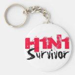 H1N1 Survivor Gear Keychains