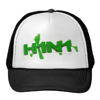 H1N1 Virus Splatter Hat