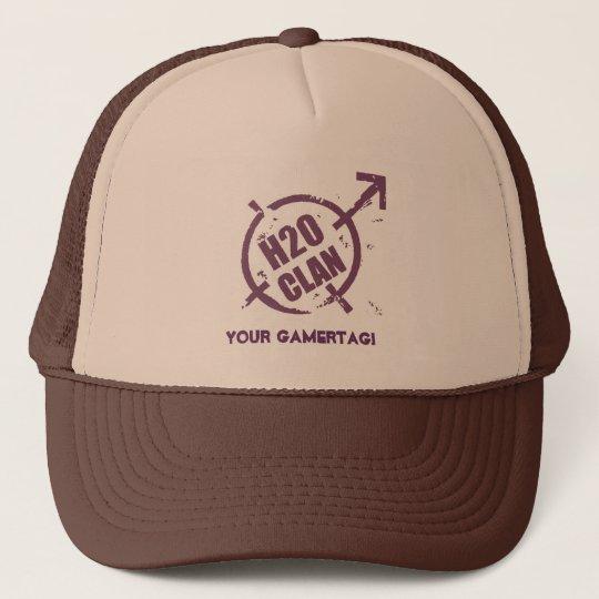 H20 Hat- Purple Logo Cap
