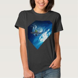 H20 OCEAN-GLOBE WITH WATERHOUSE ATMOSPHERE VIEW T-SHIRT