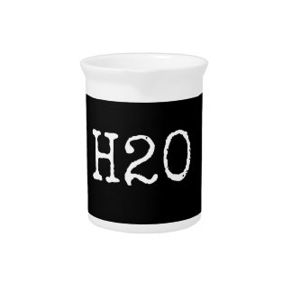 H20 Water Pitcher