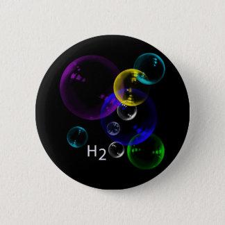 H2O 6 CM ROUND BADGE