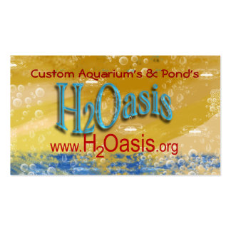 H2Oasis Cards v2 Business Card Template