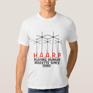 H.A.A.R.P T-SHIRTS