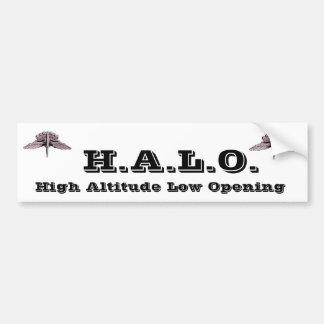 H.A.L.O. BUMPER STICKER