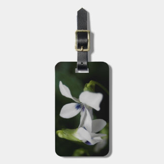 H.A.S. Arts custom luggage tag, image, Violet Bag Tag