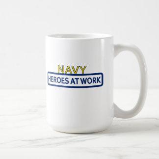 H.A.W.M. Navy Mug