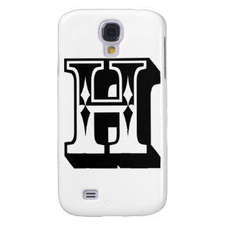 """H"" Alphabet Letter Tee Galaxy S4 Case"