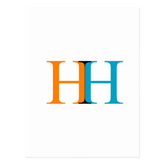 H and H graphic Postcard