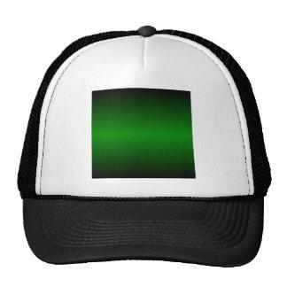 H Bi-Linear Gradient - Black and Green Cap