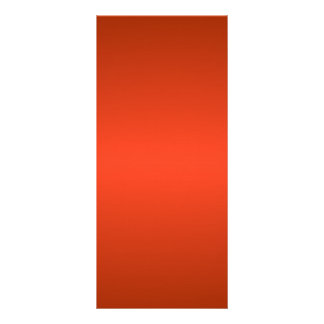H Bi-Linear Gradient - Dark Red and Light Red Custom Rack Card