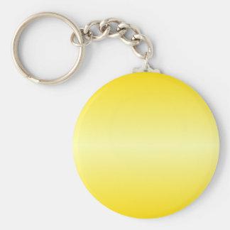 H Bi-Linear Gradient-Dark Yellow and Light Yellow Key Chains