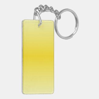 H Bi-Linear Gradient-Light Yellow and Dark Yellow Acrylic Keychains