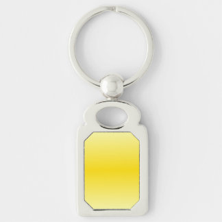 H Bi-Linear Gradient-Light Yellow and Dark Yellow Key Chain