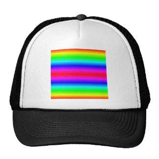 H Bi-Linear Gradient - Rainbow Trucker Hats