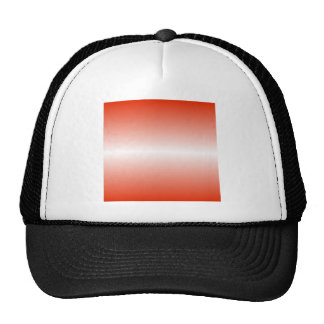 H Bi-Linear Gradient - Red and White Cap