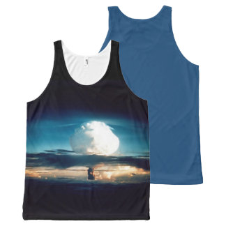 H BOMB All-Over PRINT TANK TOP