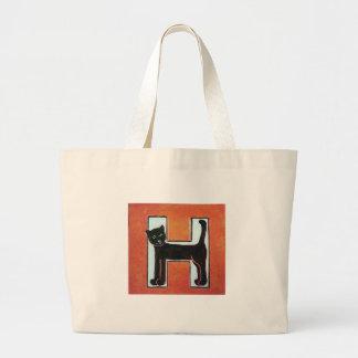 H Cat Tote Bag