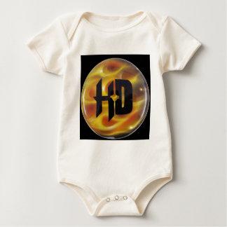 H-D TRUE FIRE BABY BODYSUIT
