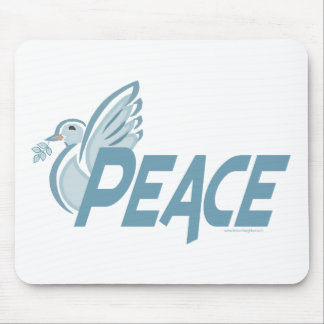 H - Dove of Peace Mousepads