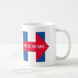 H for '16 to life coffee mug