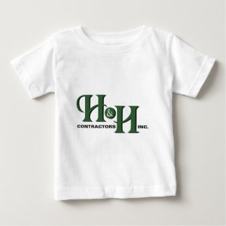 H&H Contractors Inc. Front Logo Products T Shirts