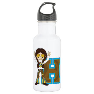 H is for Hippie 532 Ml Water Bottle