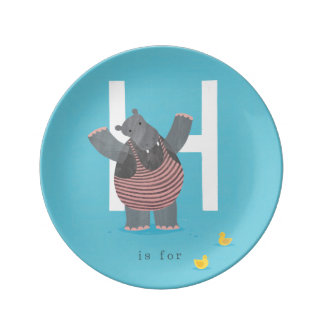 H is for... plate