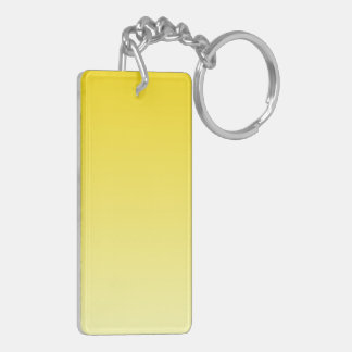 H Linear Gradient - Dark Yellow to Light Yellow Acrylic Keychains