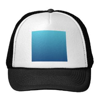 H Linear Gradient - Light Blue to Dark Blue Trucker Hats